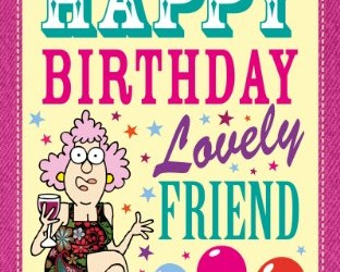 Aunty acid part 17 aunty acids happy birthday lovely friend an aunty acid birthday book aunty acid card bookmarktalkfo Images